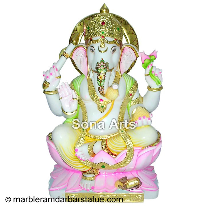 Classic Ganesha Statue made of Marble