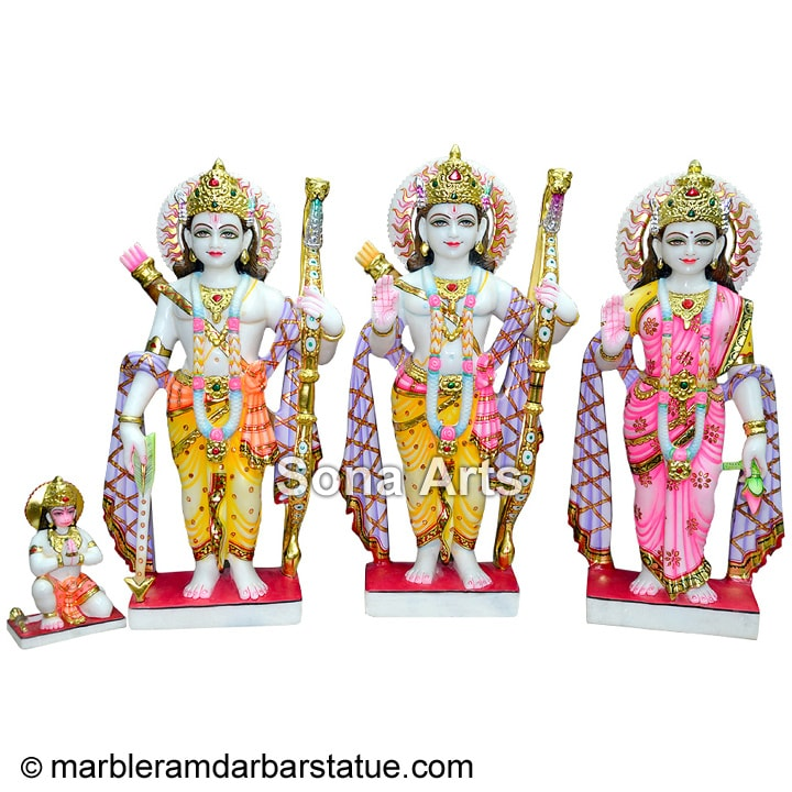 Buy Marble Ram Darbar Statue online shopping