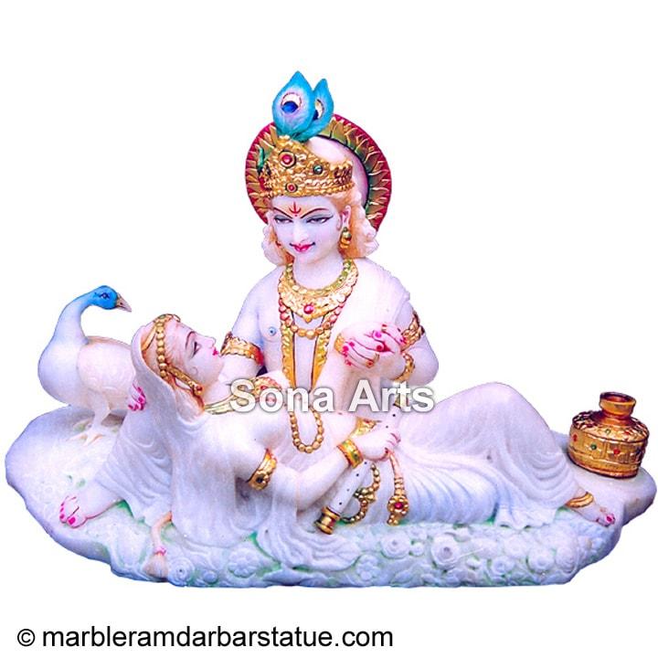 Marble Radhe Krishna Idol Radha Krishna Statue Buy