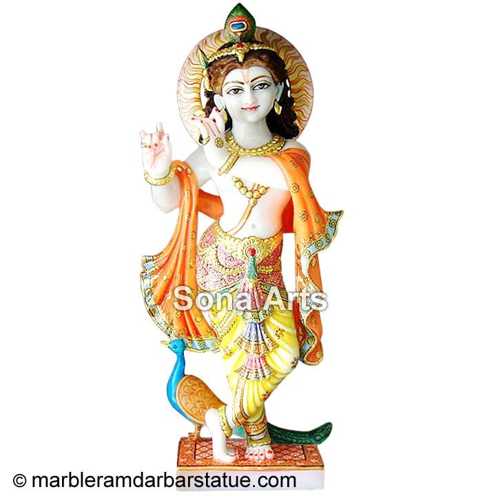 Radha Krishna Murti Marble Radha Krishna Moorti