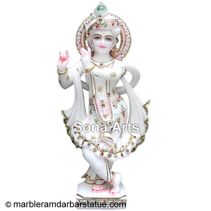 Beautiful Marble Krishna Statue Marble Krishna Statue
