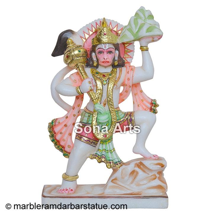 b1a8f1e5ad9 Hanuman Marble Statues - hanuman ji murti for sale manufacturer ...