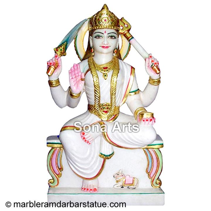 Marble Santoshi Maa Statue Santoshi Mata Murti Exporter