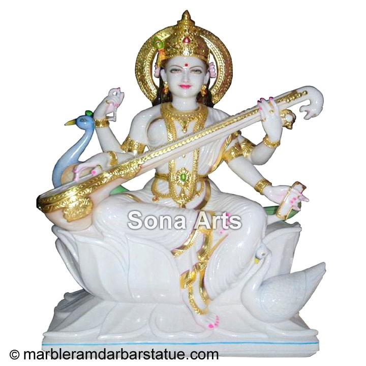 Maa Saraswati Murti Saraswati Maa Statue Manufacturer