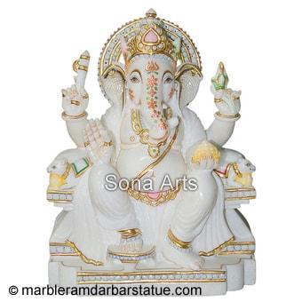 Marble Ganesha Statue Ganesha Statues Manufacturer From Jaipur India