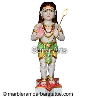 Marble Murugan Murti Online Buy Lord Murugan Statue